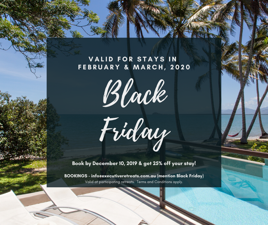 Black Friday Accommodation Sale